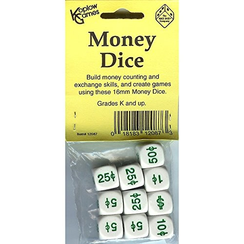 Koplow Games Money Dice (Set of 10)