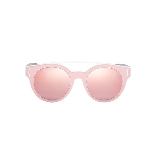 GIVENCHY Pink Rubber Logo Sunglasses