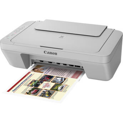 PIXMA MG3020 Wireless All-in-One Inkjet Printer (Gray)