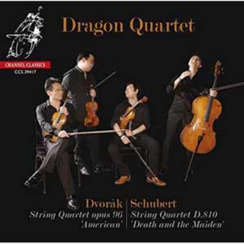 Dragon Quartet - Schubert: String Quartet No.14; Dvorak: String Quartet No.12 [Audio CD]