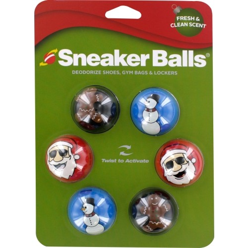 Sneaker Balls Christmas Deodorizer 6 Pack