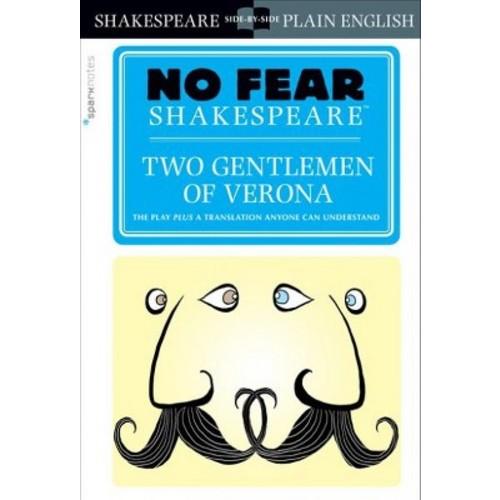 Sparknotes Two Gentlemen of Verona (Paperback)