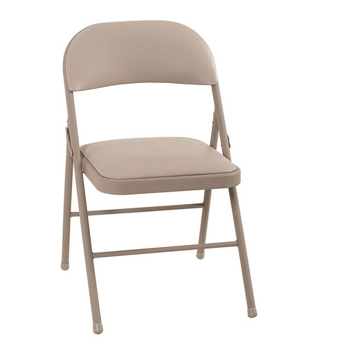 4-Pack of Cosco Vinyl Folding Chairs