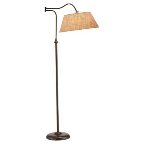 Adesso Rodeo Floor Lamp - Brown