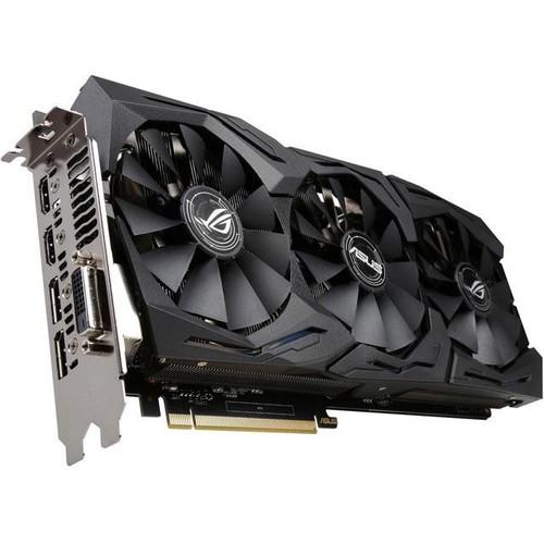 ASUS ROG GeForce GTX 1060 STRIX-GTX1060-6G-GAMING 6GB 192-Bit GDDR5 PCI Express 3.0 HDCP Ready Video Card