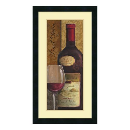 ''From The Cellar II'' Wine Framed Wall Art