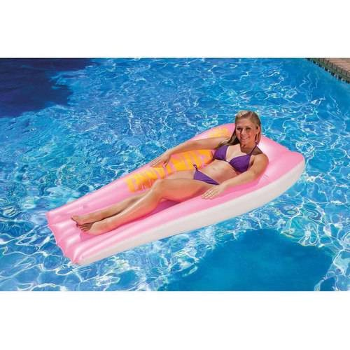 Poolmaster Pink Suntanner Mattress
