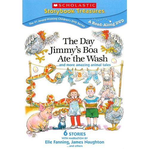 The Day Jimmy's Boa Ate the Wash... and More Amazing Animal Tales [DVD]