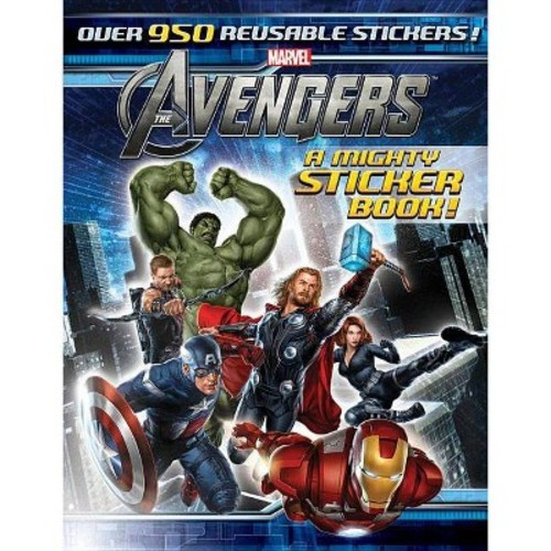The Avengers: A Mighty Sticker Book (Sticker-Activity Storybook, A)