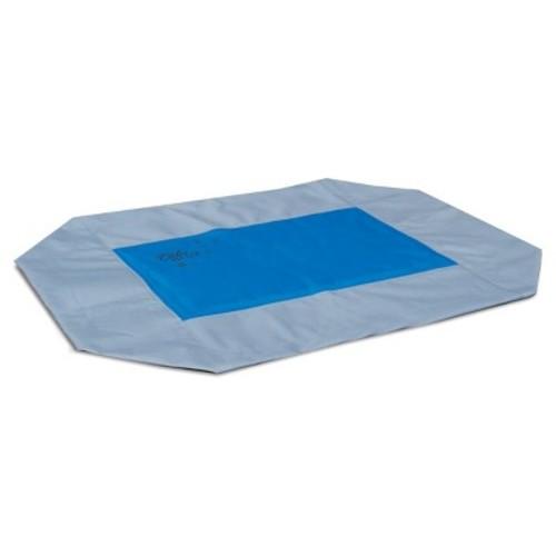 K&H Pet Products Coolin' Pet Cot Cover Medium Gray/Blue 25
