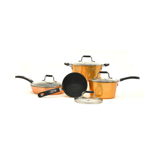 Starfrit 8-pc. Aluminum Non-Stick Cookware Set