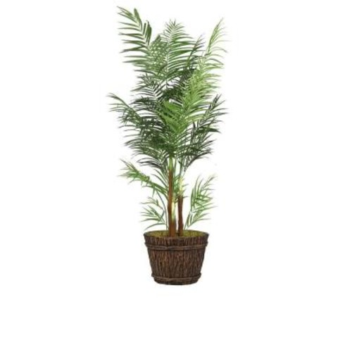 Laura Ashley 84 in. Tall Areca Palm Tree in Planter