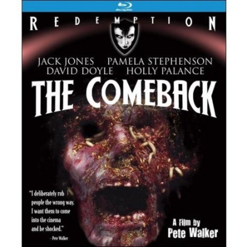 The Comeback: Remastered Edition [Blu-ray]: Jack Jones, Pamela Stephenson, David Doyle, Holly Palance, Pete Walker: Movies & TV