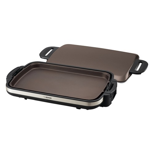 Zojirushi EA-DCC10 Gourmet Sizzler Electric Griddle [Stainless Brown, None]