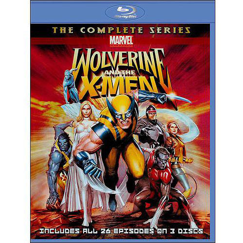 Wolverine and the X-Men: The Complete Series [3 Discs] [Blu-ray]