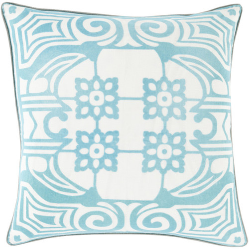 Decorative Allyson Floral 22-inch Throw Pillow [option : Polyester]