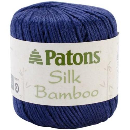 Silk Bamboo Yarn, Navy