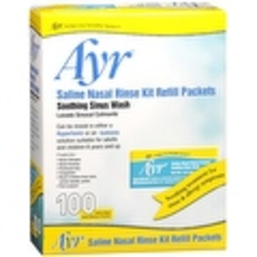 Ayr Sinus Rinse Refill Packets 100 Each [option : Pack of 6]
