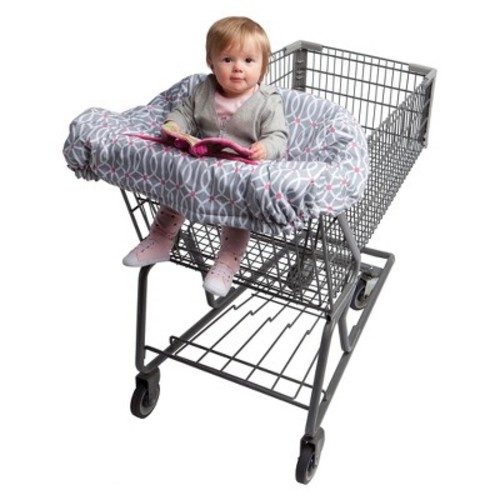 Boppy Shopping Cart and High Chair Cover, Park Gate Pink [Park Gate Pink]