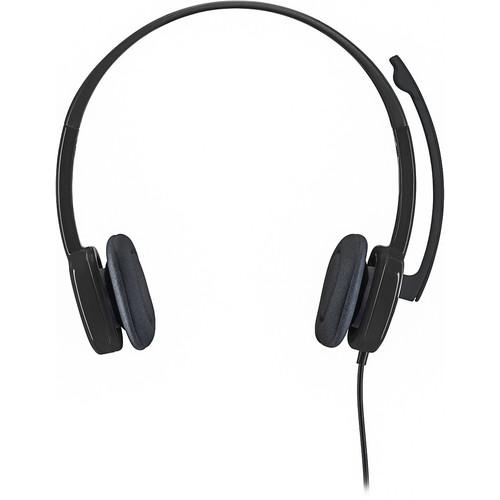 Logitech - Stereo H151 On-Ear Headphones - Black