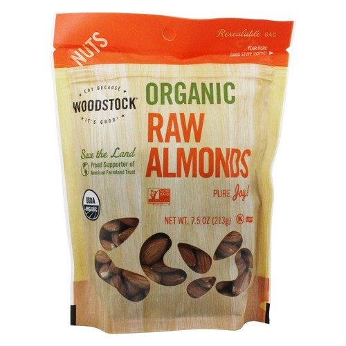 Woodstock Farms - Organic Almonds - 8 oz.