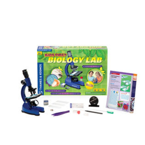 Thames & Kosmos Science Experiment Kit - Kids First Biology Lab