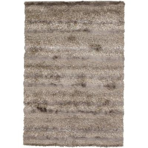 Chandra Kapaa Tan/Ivory/Taupe 7 ft. 9 in. x 10 ft. 6 in. Indoor Area Rug