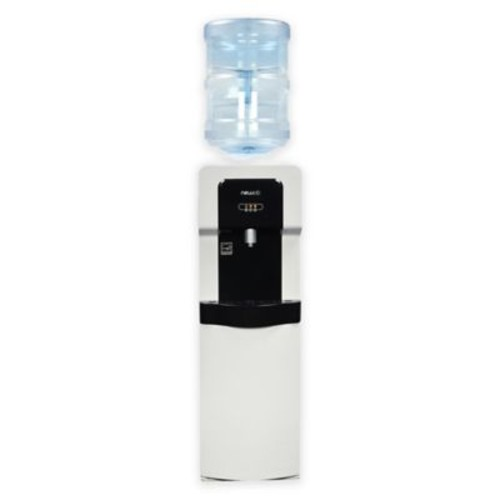 Air Pure Spring Top-Load Hot and Cold Water Dispenser in White
