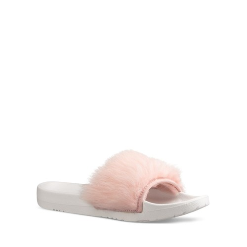 Women's Royale Shearling Pool Slide Sandals