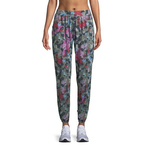 Camo Printed French Terry Jogger Pants