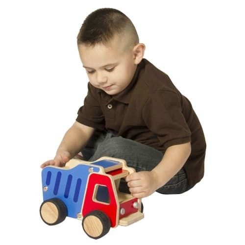 Guidecraft Learning & Educational Toys Super Tough Dump Truck