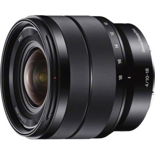 Sony SEL1018 - 10-18mm f/4 Wide-Angle Zoom E-Mount Lens