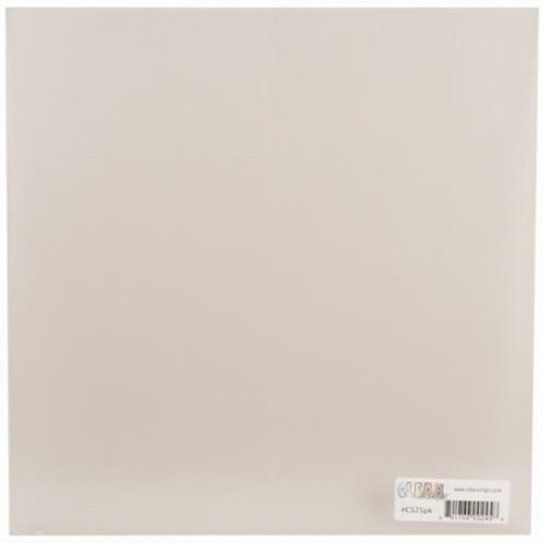 Clear Scraps 12 by 12-Inch Clear Acrylic