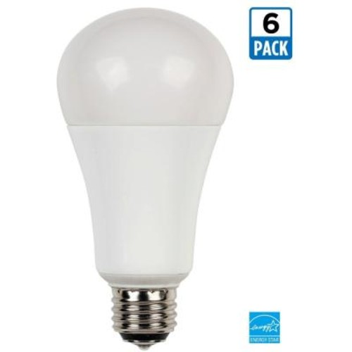 Westinghouse 30/60/100-Watt Equivalent Warm White (2,700K) A21 3-Way LED Energy Star Light Bulb (6-Pack)