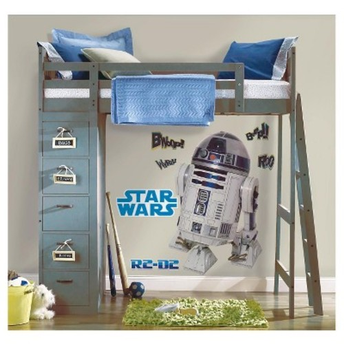 RoomMates Star Wars Classic R2D2 Peel & Stick Giant Wall Decal