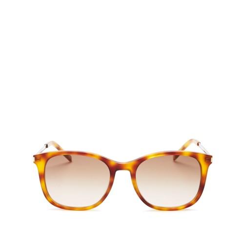SAINT LAURENT Thin Square Sunglasses, 53Mm