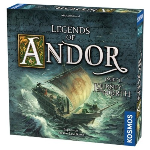 Thames & Kosmos Legends of Andor Journey to the North Board Game Expansion Pack