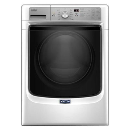 Maytag 4.5 cu. ft. High-Efficiency Front Load Washer with Steam in White, ENERGY STAR