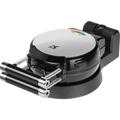 Kalorik - Belgian Waffle Maker - Black, Stainless Steel
