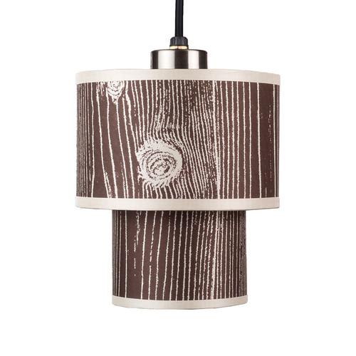 Lights Up! RS-9206BN-WHT Deco Mini Pendant White Linen