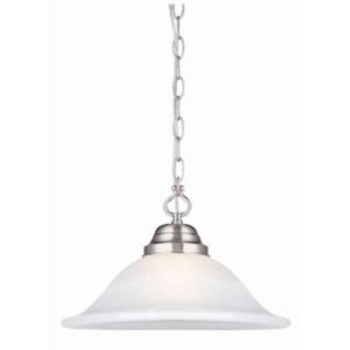 Design House Millbridge Satin Nickel Swag Light Fixture