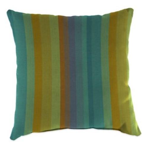 20-Inch Square Outdoor Throw Pillow in Sunbrella Astoria Lagoon