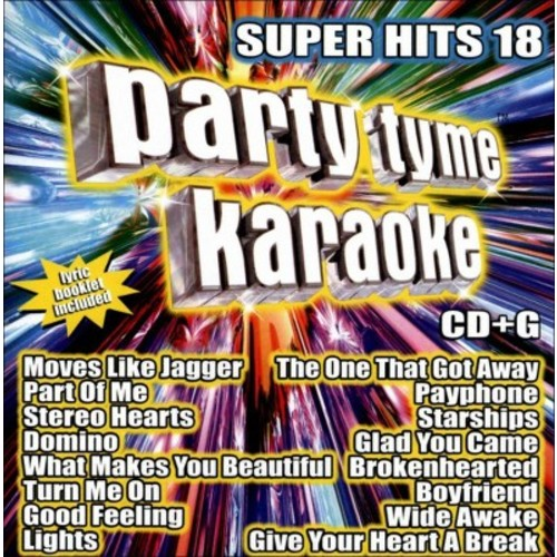 Karaoke - Party Tyme Karaoke: Super Hits, Vol. 18 (CD)