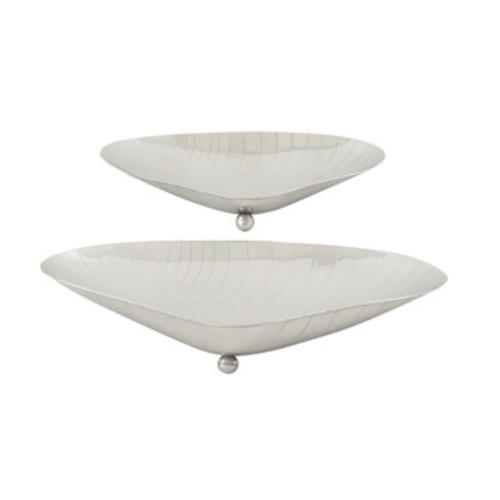 Stainless Steel Dishes (Set of 3)
