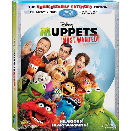 The Muppets: Most Wanted Blu-Ray Combo Pack (Blu-Ray/DVD/Digital HD)