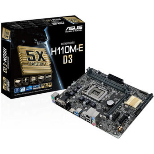 H110M-E LGA 1151 Micro ATX Motherboard