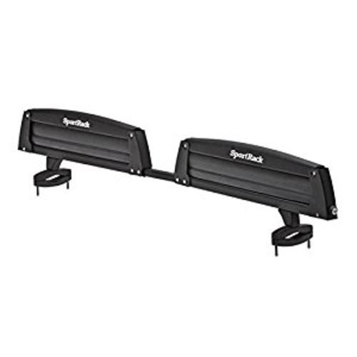 SportRack SR6453 Locking Roof Ski and Snowboard Carrier, Black [Black, One Size]