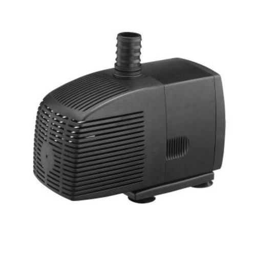 Algreen 850 GPH Pond Pump for Water Gardening and Water Features