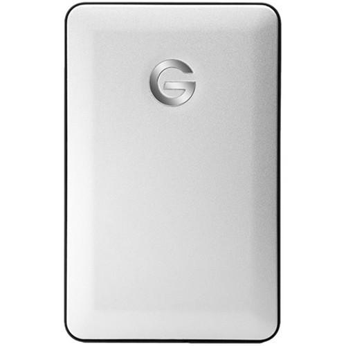 G-Technology - G-DRIVE mobile USB 1TB External USB 3.0 Portable Hard Drive - Silver