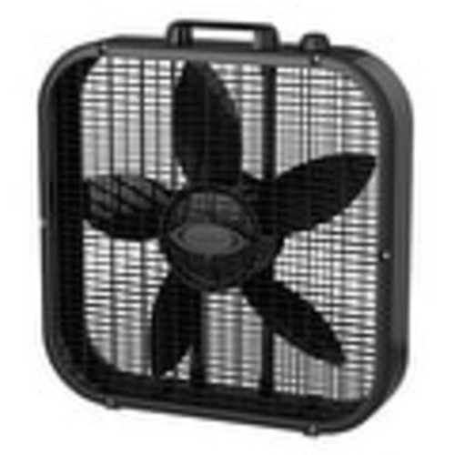 Lasko B20401 3-Speed Box Fan, Black, 20
